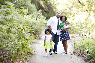 Claremont Botanical Gardens Family Session
