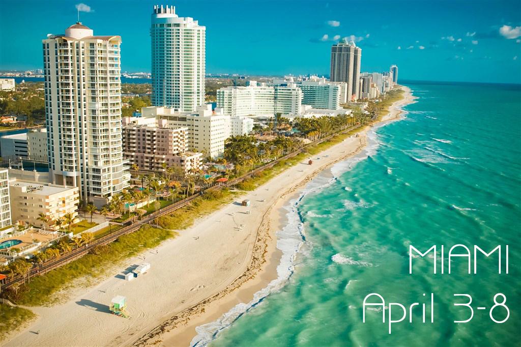 USA, Florida, Miami, Miami Beach, aerial view