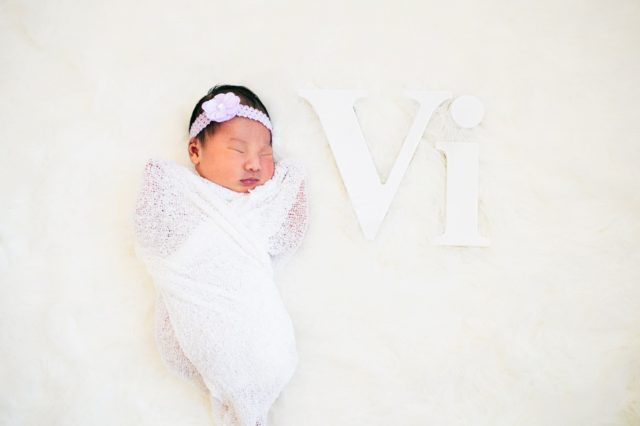 newborn portrait session - southern california newborn photographer