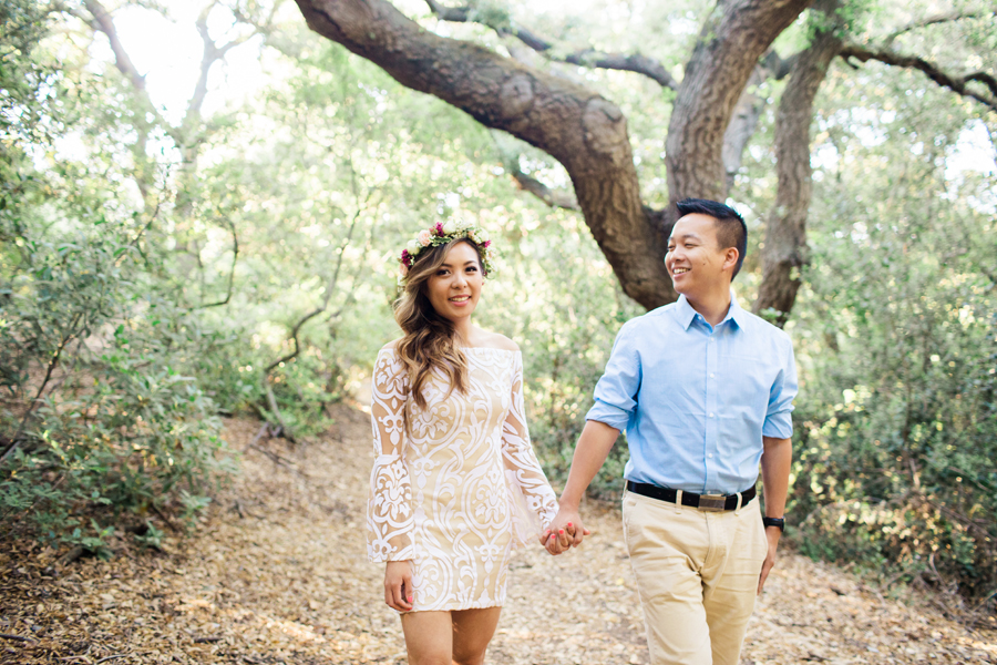 oak canyon nature center engagement session